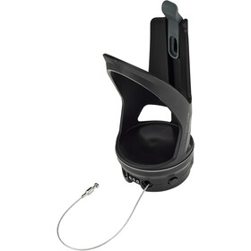 SKS Lockcage Flaskeholder, black